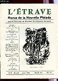 Telecharger Livres L ETRAVE N 30 JANVIER 1966 VOEUX POUR UNE NOUVELLE ANNEE D EFFORT MENACE A LA CULTURE NOMBREUX POEMES POESIE MODERNE PEINTURE CLAUDE QUILLATEAU J C BAUDICHON DU PERE ETC (PDF,EPUB,MOBI) gratuits en Francaise