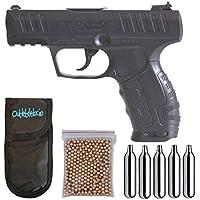 Pistola Perdigón Daisy 426 4,5mm. + Funda Portabombonas + Balines + Bombonas co2. 23054/29318/38123