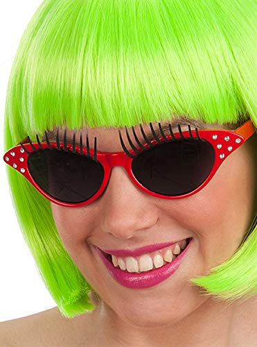 Carnival T. Brille mit Wimpern