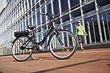 FISCHER E-Bike CITY ECU 1703, Mittelmotor 36 V/317 Wh und LCD-Display -