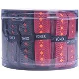 Yonex AC 7405 E2T  1 Grip, Multicolour  Rubber Badminton Grip