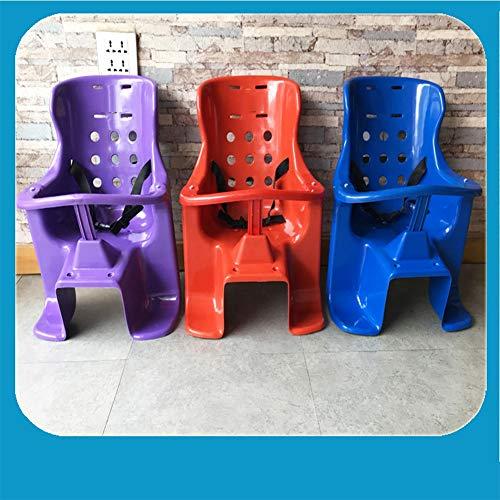 Joyfitness Fahrrad Kindersitz Hinten Kunststoff Verdickung Infant Mountainbike Sitz,Purple,57x29cm