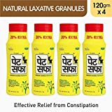 Pet Saffa Constipation Relief Powder - 120gm (Pack of 4)