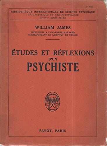 William James, professeur à l'Unive...