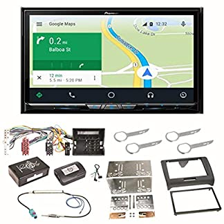 Pioneer-AVIC-Z910DAB-Navigation-Digitalradio-CarPlay-Android-Auto-Bluetooth-USB-DAB-CD-DVD-MP3-Einbauset-fr-Audi-TT-8J