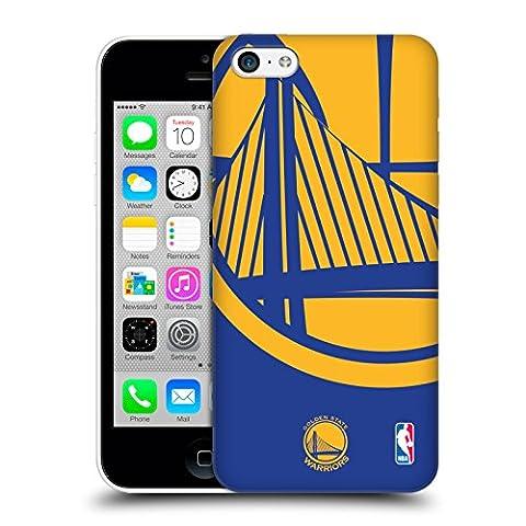 Officiel NBA Icône Surdimensionnée Golden State Warriors Étui Coque D'Arrière Rigide Pour Apple iPhone 5c