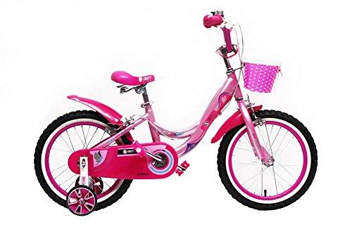 Kinderfahrrad 16 Zoll Kinder Fahrrad Spielrad Rad Mädchen Pink Rosa STEM BIKE