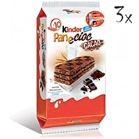 3x Kinder Ferrero panecioc cacao 10x Kuchen mit Schokolade & cacao 30 gr kekse