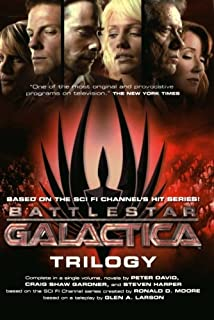 Battlestar Galactica Trilogy (Battlestar Galactica (Paperback)) (076532329X) | Amazon price tracker / tracking, Amazon price history charts, Amazon price watches, Amazon price drop alerts
