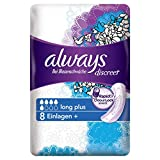 Always Discreet Inkontinenz Einlagen+ Long Plus Bei Blasenschwäche