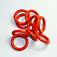 Cary 44 mm OD 5 mm spessore tubo Ammortizzatori silicone O-Ring Amp per Shuguang KT88 6550 KT66 kt100 10pcs