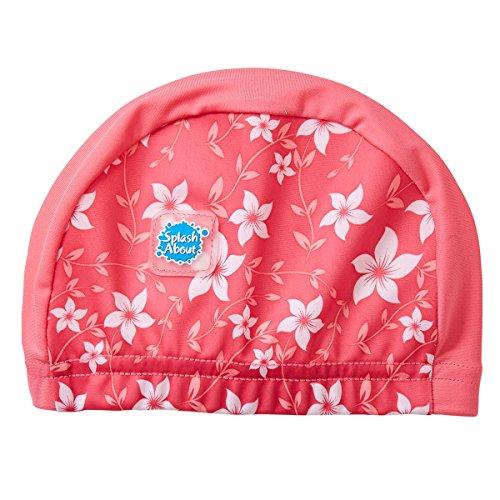 Splash About Gorro de natación, niños, Infantil, color Pink Blossom, tamaño 0-18 Meses