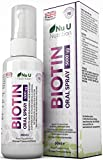 Biotin Spray 60ml Orange Flavour Essential Supplement for Maintenance of Normal Hair, Skin and Metabolism Providing 70 day's supply | Suitable for Vegetarians & Vegans by Nu U Nutrition. from Nu U Nutrition