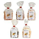 Sanddornbonbons (5 verschiedene Sorten)