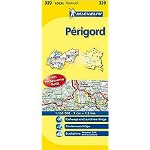 Michelin Localkarte Périgord 1 : 150 000: Radwege und autofreie Wege, Routenvorschläge, Stadtpläne: Périgueux, Tulle, Brive-la-Gaillarde (Allemand) ( mai 2015 )
