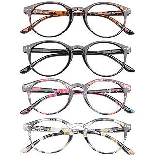 VEVESMUNDO® Lesebrillen Damen Herren Federscharnier Lesehilfe Augenoptik Vintage Retro Qualität Vollrandbrille 1.0 1.25 1.5 1.75 2.0 2.25 2.5 3.0 3.5 4.0