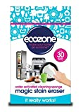 Ecozone Magic Stain Eraser - Finest Quality - High Density Sponge - Removes Tough Stains and Marks Using Only Water - Can Be Cut Into Up To 30 Sponges