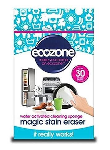 Ecozone ERASER Magical Fleckenradierer, höchste Qualität, zuschneidbarer hochdichter Schwamm, maximal 30-Stück