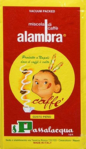 Alambra - Miscela di Caffè, Gusto Pieno - 4 pezzi da 250 g [1 kg]