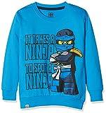 Lego Wear Jungen Lego Boy Ninjago M-72174-Sweatshirt, Blau (Blue 538), 128