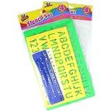 Artbox Juego de Platillas - Set de reglas con letras para niños de 4+ años de edad