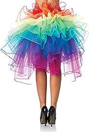 تنورة قصيرة ذات ذيل طويل متعددة الألوان للنساء من Beaupretty s تنورة فقاعة تنورة توتو فستان الملحقات للمنزل