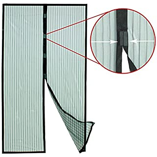 Mosquito Net Fly Insect Protection Mesh Magnetic Door Curtain