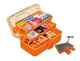 Multipurpose Plastic Storage Box with Tw...