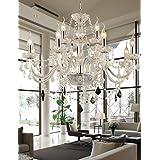 Retro clásico moderno de cristal de Murano, arte creativo arte de hierro minipendant arañas de cristal, lámparas de techo, lámparas de araña de cristal-475 lighting 220-240 V