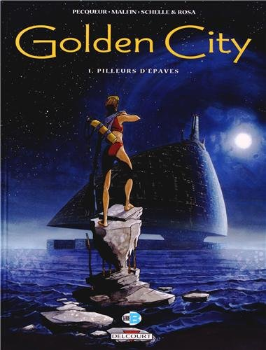 Golden City - Pack T1 + T10 + ex-libris