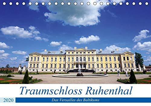 Traumschloss Ruhenthal - Das Versailles des Baltikums (Tischkalender 2020 DIN A5 quer): Innen- und Außenansichten von Schloss Rundale in Kurland (Monatskalender, 14 Seiten ) (CALVENDO Orte)