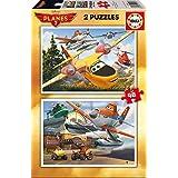 Puzzles Educa - Planes: Fire & Rescue, 2 x 48 piezas (15956)
