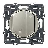 Legrand LEG99785 Dimmschalter, aus Titan, 300 W, zum Einbauen