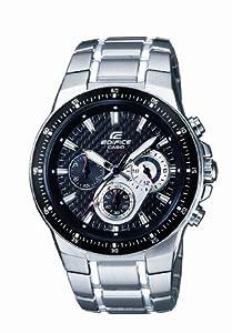Reloj de caballero CASIO EF-552D-1AVEF Edifice de cuarzo, correa de acero inoxidable color varios colores (con cronómetro, luz) de Casio