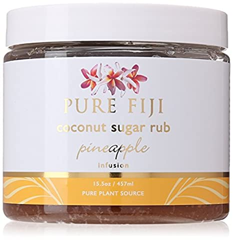 Pure Fiji Coconut Sugar Rub Pineapple, 15.5 Ounce by Pure Fiji