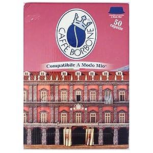 5664 Caffè Borbone 50 Don Carlo, Compatibili a Modo Mio, Miscela Nobile - 360 gr
