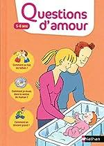 Questions d'amour 5-8 ans de Rosy