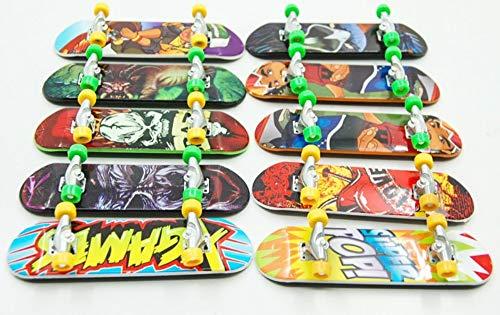 Kungfu Mall 5pcs Finger Spielzeug Mini Skateboard Kinder Spielen Spielzeug (Skateboard-ollie)