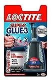 Loctite Super Glue-3 Power Flex formato gel control, adhesivo instantáneo, 3gr