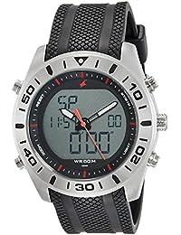 Fastrack Analog-Digital Grey Dial Men's Watch-NK38034SP03