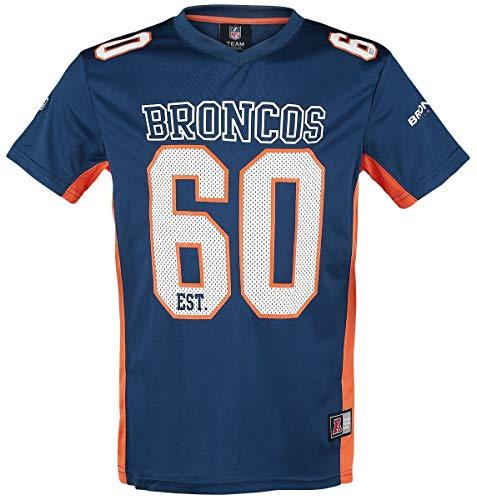 NFL Denver Broncos T-Shirt blau S
