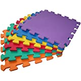 TLCmat Soft Foam Play Mat - SGS, TUV, REACH safety TESTED (12pcs Pack)