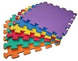 TLCmat Soft Foam Play Mat - SGS, TUV, REACH safety TESTED (12pcs Pack)