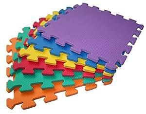 TLCmat Soft Foam Play Mat (Pack of 6)