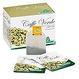 caffe' verde préparé pour infusion de café vert 20 sachets