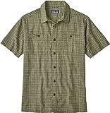 Patagonia M 'S BACK Step Shirt, Herren M Grün (tino industrial green)