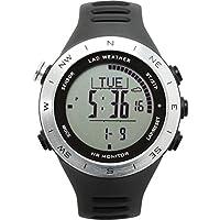 [Lad Wetter  Deutsche Sensor Herzfrequenz Monitor Stoppuhr ABC Multifunktions-Uhr Training/Sport Aktivitäten