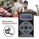 Ballylelly El tatuaje profesional huracán HP-2 Pantalla Digital Máquinas de fuente de alimentación