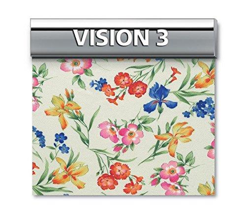 """Genius 4D - Biancaluna - Copridivano 2 posti per divani da 140 a 180cm - Colori fantasia """"Vision"""" - Vision 3"""