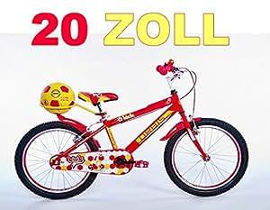"20"" 20 Zoll Kinderfahrrad Kinder Jungen Fahrrad Bike Jugendfahrrad Jugendrad KICK ROTGELB"